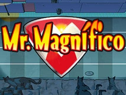 Mr. Magnifico logo