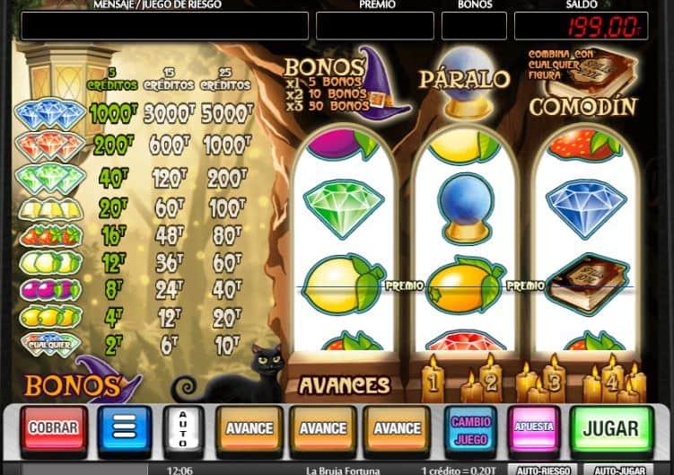 Spiele La Bruja Fortuna - Video Slots Online