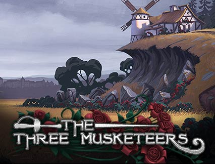 The Three Musketeers logo