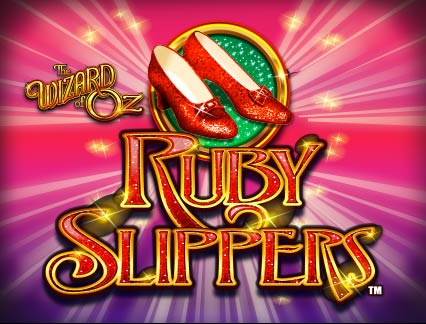 THE WIZARD OF OZ Ruby Slippers logo