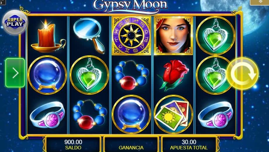 Símbolos, Gráficos, sonidos y animaciones de Gypsy Moon