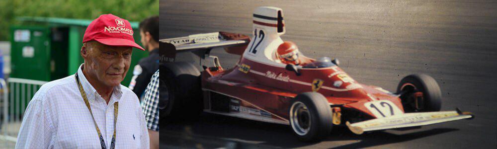 Homenaje de Novomatic a Niki Lauda