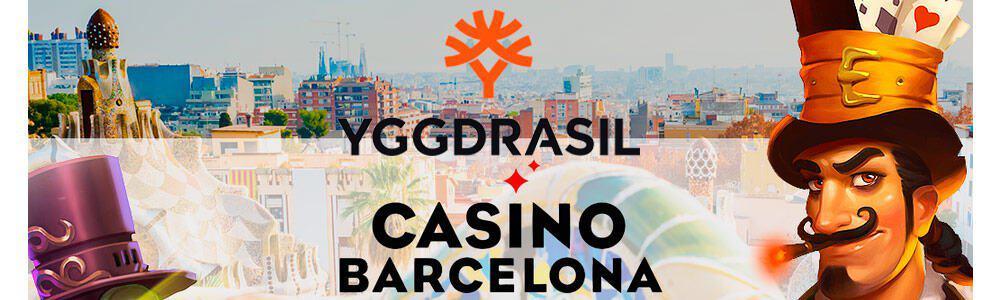 Yggdrasil se abre hueco en el catálogo de Casino Barcelona
