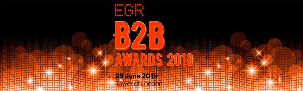 Premios de proveedores de juego online EGR B2B Awards, 2019