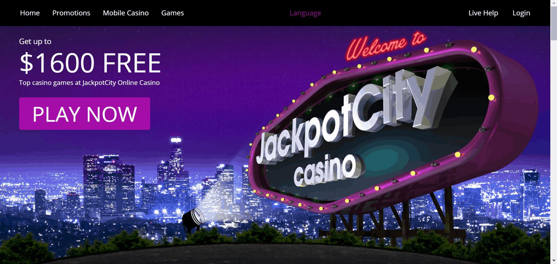 JackpotCity Casino desktop
