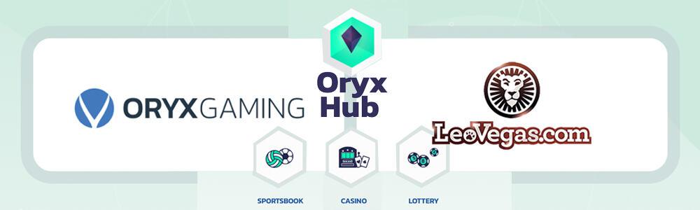LeoVegas Casino y Oryx Gaming inician una colaboración
