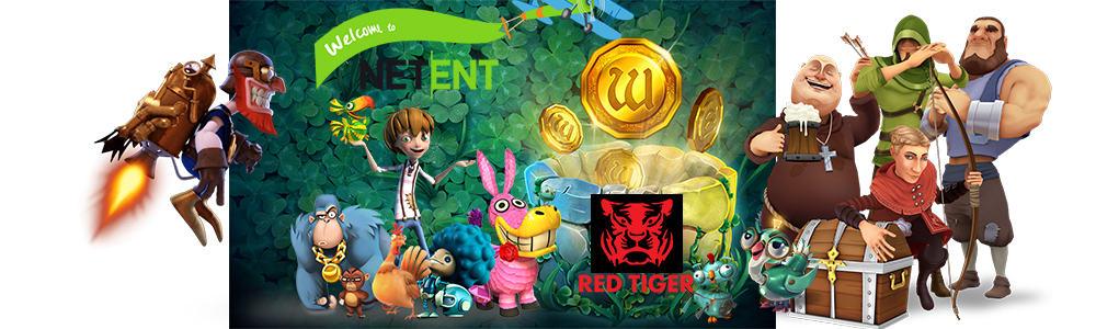 NetEnt acuerda comprar Red Tiger Gaming