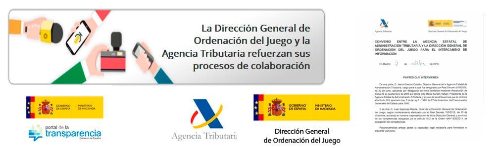 La DGOJ española en colaboración con la Agencia Tributaria