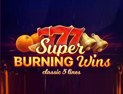 Super Burning Wins: classic 5 lines