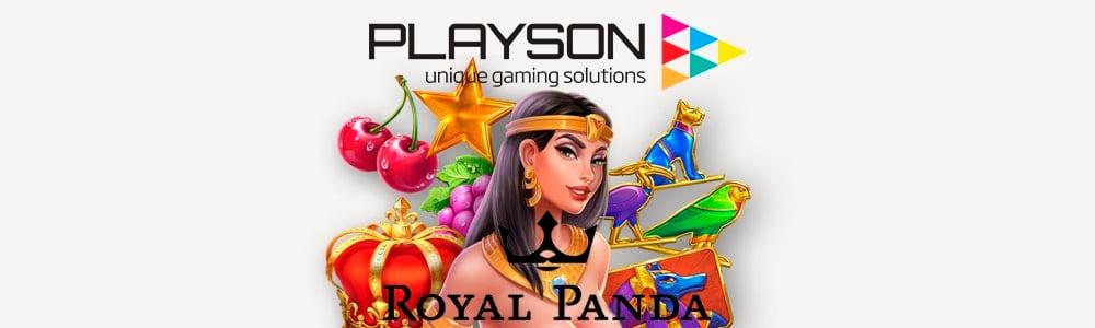 Los juegos de Playson ahora disponibles en Royal Panda
