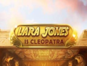 Lara Jones is Cleopatra logo