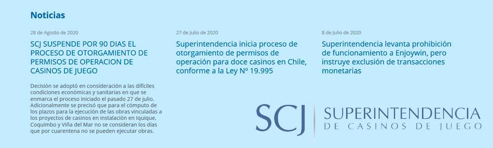 Suspenden trámites de licencias en Chile