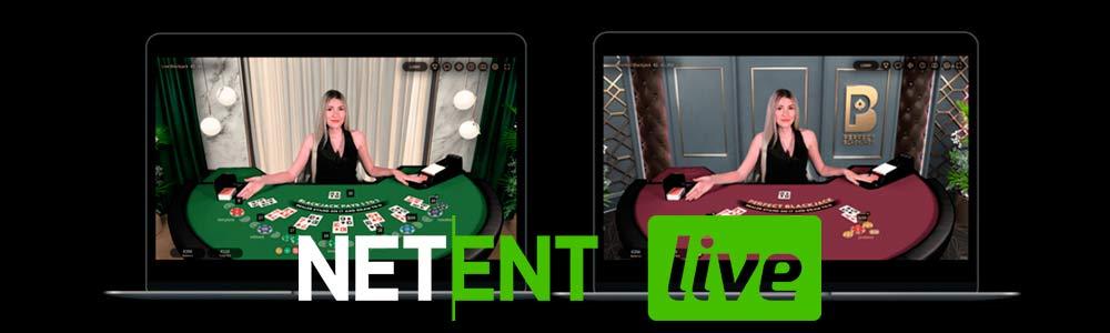 3 nuevas mesas de Blackjack NetEnt Live, Malta