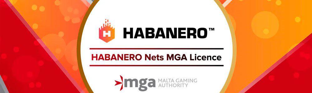 Habanero ha conseguido una licencia de la MGA