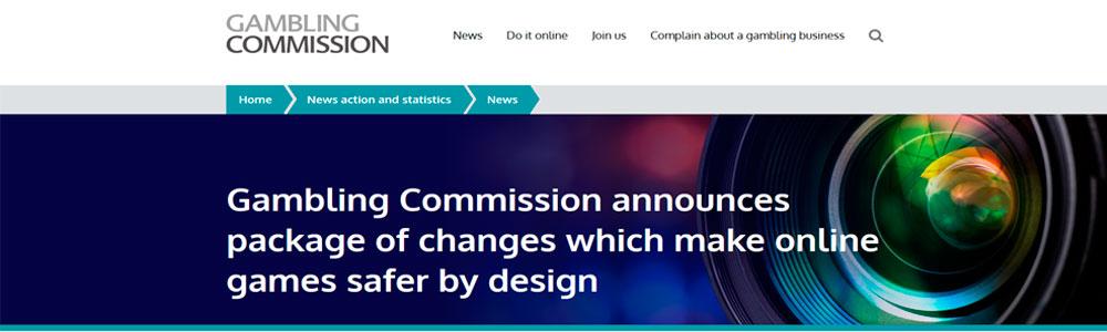 Normativa slots online UK Gambling Commission