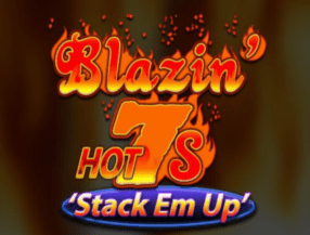 Blazin Hot 7s Stack Em Up logo