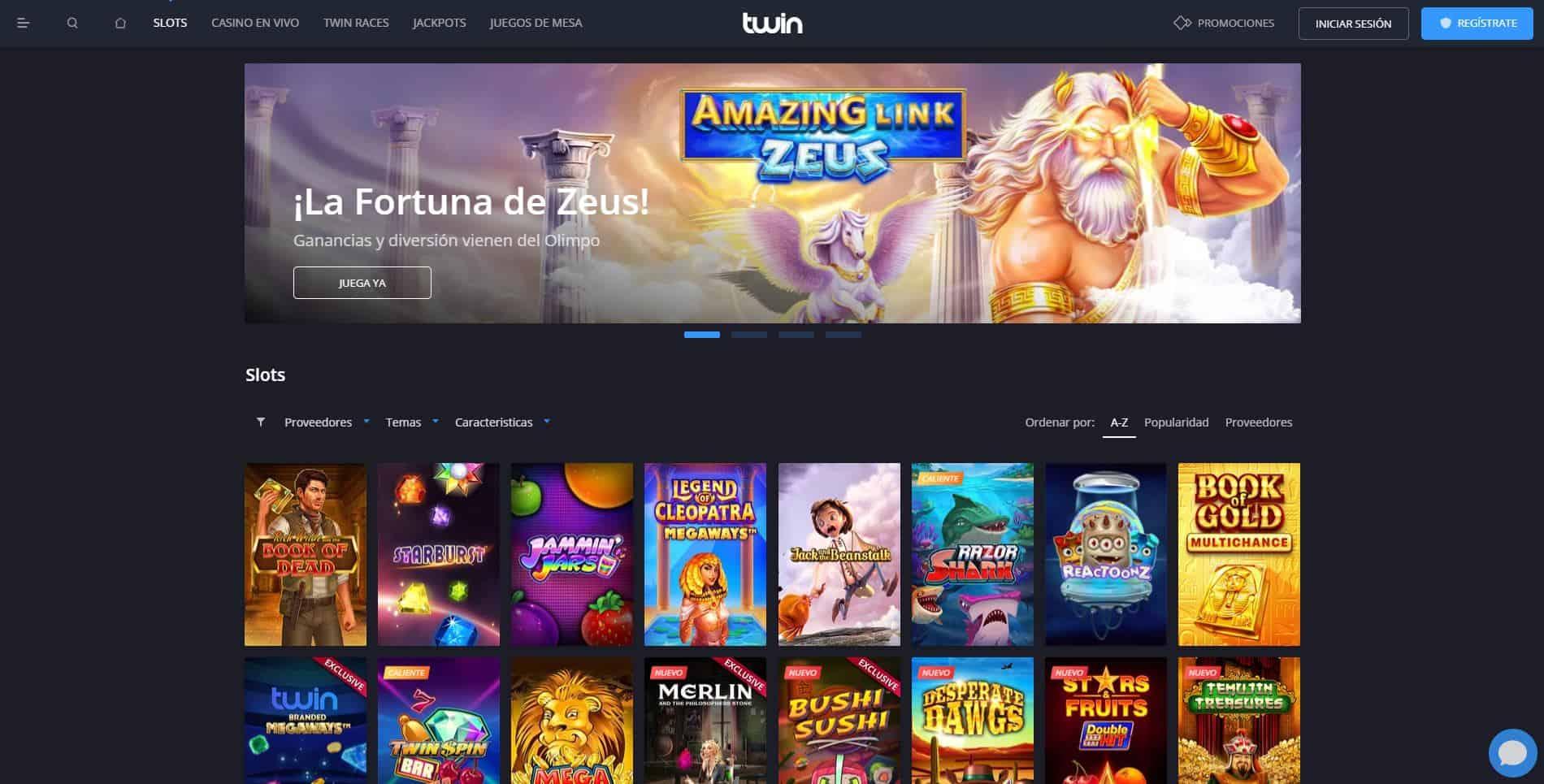 juegos de slot online en Twin