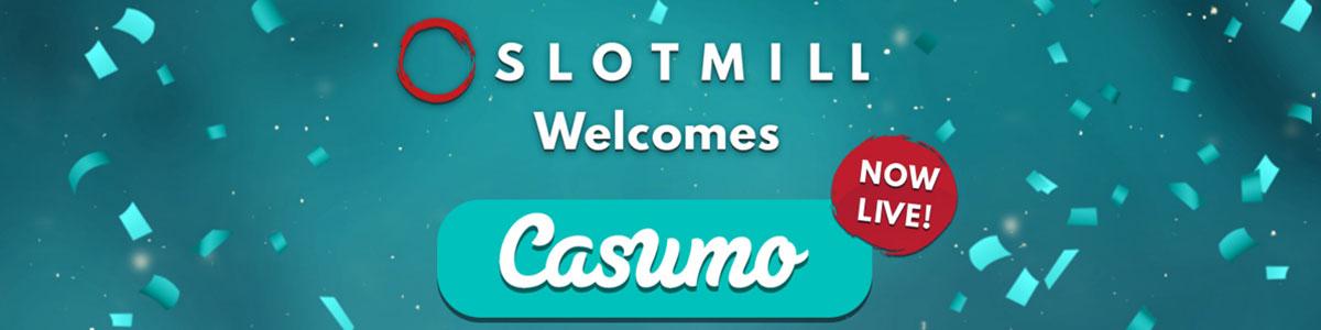 Las tragaperras Slotmill en casino Casumo