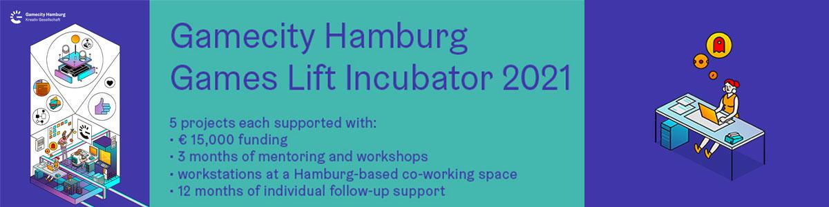 Comienza el Games Lift Incubator 2021